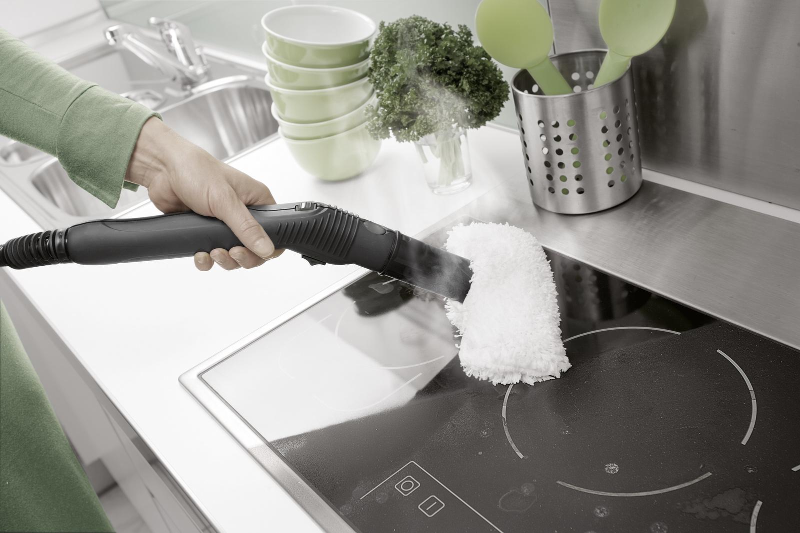уборка плиты